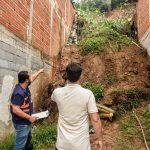 Prefeitura e Defesa Civil vistoriam áreas afetadas pelas chuvas