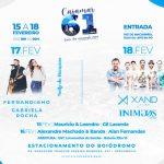Cajamar tem programação especial de aniversário a partir deste sábado (15)