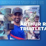 Esporte Top dia 25|01 Rodrigo Feliciano entrevista o Arthur Reis Triatleta  cajamarense