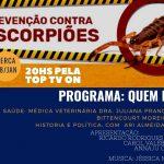 Programa Quem Faz desta Terça-feira (28) ao vivo as 20h irá receber a médica veterinária da Unidade de Vigilância de Zoonoses de Cajamar, Juliana Prando Bittencourt Moreira
