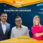 Programa Eleições em Destaque ao vivo hoje as 19h